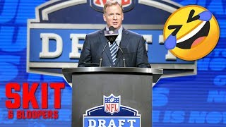 2019 NFL Draft SKIT & Bloopers - Roger Goodell Butchers Names - Cardinals Kyler Murray