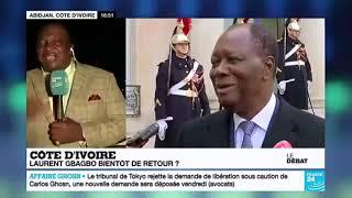 Débat sur le retour de Gbagbo en Côte d'ivoire entre Adjoumani (RHDP) et Georges Aka (FPI France)