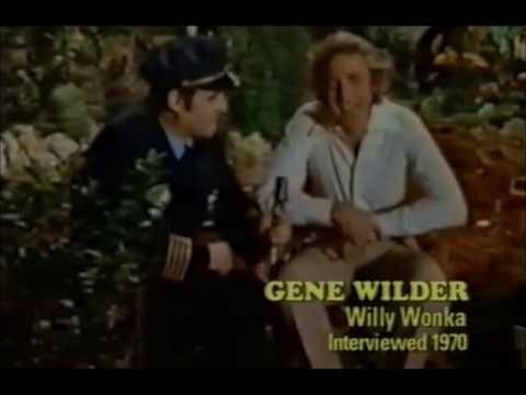 Gene Wilder vintage Willy Wonka Interview