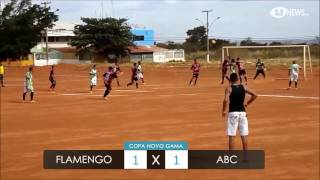Copa Novo Gama 2016 #63 - Flamengo 1 X 1 ABC