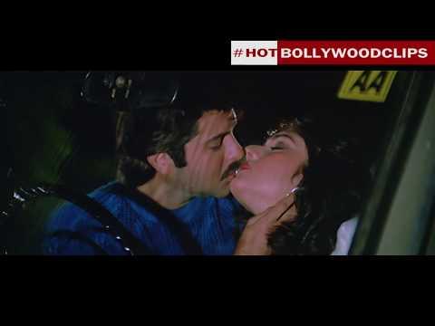 Xxx Mp4 Meenakshi Seshadri And Anil Kapoor Lip Kiss From Movie Vijay2017 3gp Sex