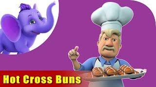 Hot Cross Buns, Nursery Rhymes for Children