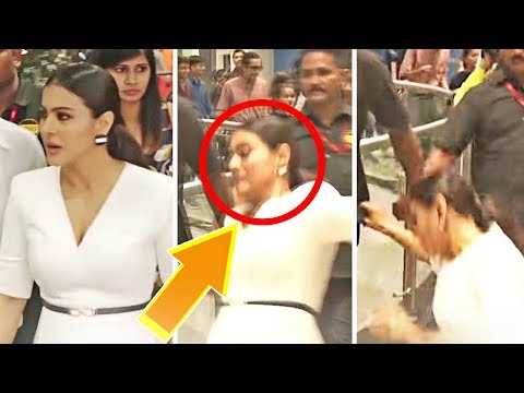 Xxx Mp4 Kajol SLIPS And FALLS In Public While Walking 3gp Sex