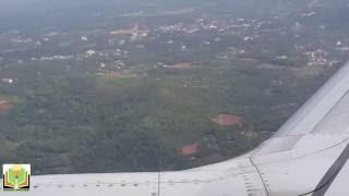 Landing at Mangalore Airport Jet Airways