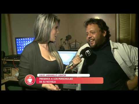 Hijo de de Julio Jaramillo revela su faceta como director de su novela