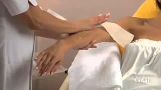 Gigi Arm Waxing Tutorial