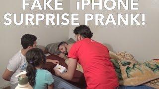 FAKE iPHONE SURPRISE PRANK!!!