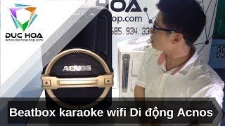 Giới thiệu Beatbox Karaoke Wifi di động SONCAMEDIA KB39 - duchoashop.com