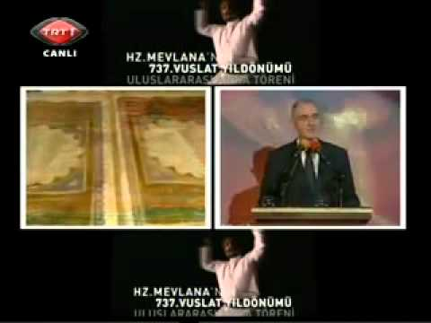 Ömer Tuğrul İnançer 737. Şeb i Arus Töreni Konya