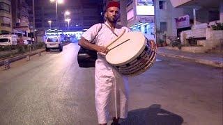 """بالفيديو: جولة مع"""" مسحراتي"""" بيروت!  - ليال سعد"""