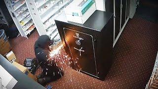 """10 عمليات سرقة عبقرية """" سرقات بالملايين """"   ولكن تم تصويرهم بكاميرات المراقبة"""