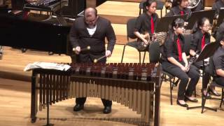 3. Concertino for Marimba and Winds - Movements I. Nocturne II. Scherzetto