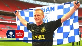 Ben Watson relives Wigan's 2013 FA Cup Final win over Man City | Flashback