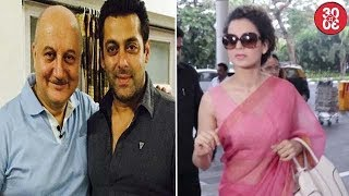 Salman Comes To Anupam's Rescue | Kangana Now Turns Editor For
