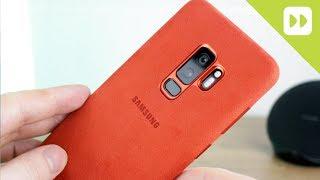 Official Samsung Galaxy S9 / S9 Plus Alcantara Cover Review