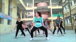 How to Dance What makes you beautyful (mirror)- HotStar 2016 - HVTC