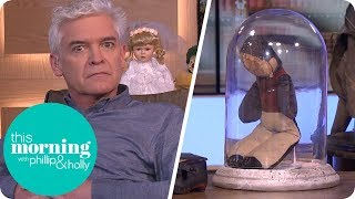 Will Phillip Get Spooked Out by a Haunted Wheelchair?   This Morning