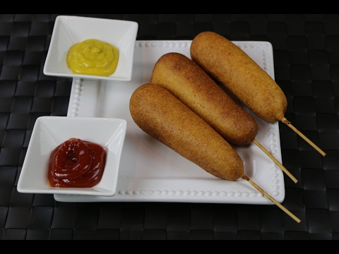 Xxx Mp4 How To Make Corn Dogs Hot Dog On A Stick Recipe 3gp Sex