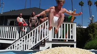 Is This Popcorn Stunt the Bro-iest Video of All Time? | What's Trending Now