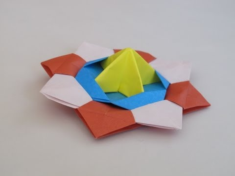 Origami How to Make a Spinning Top