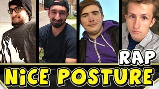 NICE POSTURE SQUAD RAP / SONG - (JeromeASF, AlexACE, Tewtiy, Frizzlenpop)