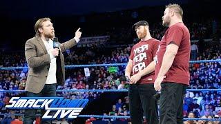 Kevin Owens & Sami Zayn occupy SmackDown: SmackDown LIVE, Dec. 12, 2017