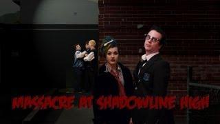 MASSACRE AT SHADOWLINE HIGH Episode 1 HD - Spooksy Delune, The Vampire Bats, Secret Agent Records