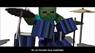 Minecraft creeper vs zombie