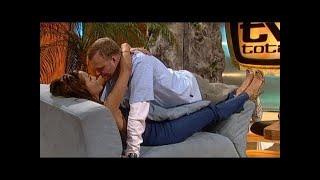 Verona und Stefan üben küssen - TV total classic