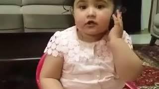 Iranian Azeri Baby این دختر کوچولو زبان آذری رو مثل قند صحبت میکنه