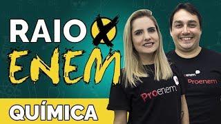 Raio X ENEM: Os temas mais cobrados de Química - Prof. Luiz Claudio e Caroline Azevedo
