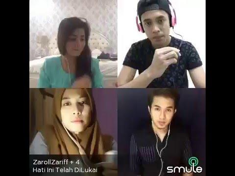 Hati ini telah dilukai - Zaroll Zariff , Khai Bahar , Fatin Husna ,Izni Farok (smule malaysia)