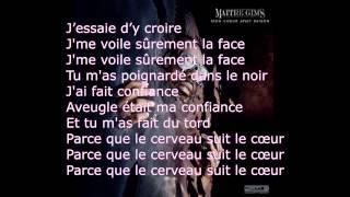 Maitre Gims - Brisé (PAROLES) HD