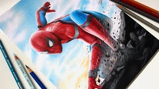 Drawing Spider Man - Homecoming / Desenhando o Homem Aranha