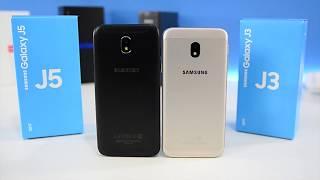 Обзор Samsung Galaxy J3 и J5 2017