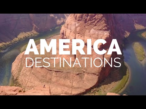 25 Most Beautiful Destinations in America Travel Video