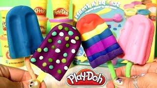 Massinhas de Sorvete e Picolé com Play Doh Scoops