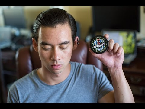 Cock Grease XXX Water Type Pomade - Natural and Firm