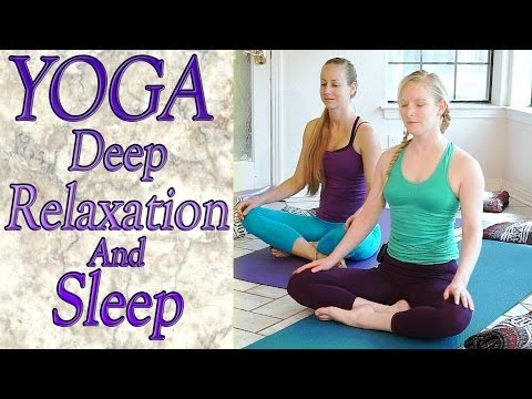Xxx Mp4 Beginners Yoga For Deep Relaxation Sleep Insomnia Anxiety Stress Relief 3gp Sex