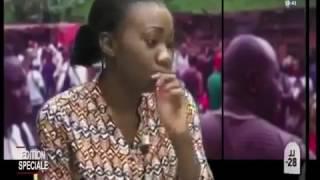 Denise Naafa victime du déraillement de train d'Eseka