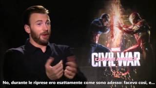 Chris Evans interview  - (Sub ITA) - Captain America: CIVIL WAR Press tour - SPOILER FREE