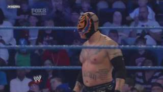 WWE Smackdown 12/02/10 Rey Mysterio vs CM Punk(HD 720p)part 1/2