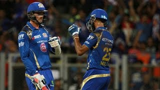 IPL 2016 | Mumbai Indians vs Gujarat Lions | Tim Southee & Krunal Pandya Pair Lift MI To 143 Runs