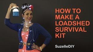 How to Make a Loadshedding Survival Kit