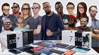 Which SMARTPHONES Do We Use? - YOUTUBER Edition ft. MKBHD, Dave2D, Austin Evans + More