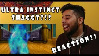 Ultra Instinct Shaggy REACTION !!
