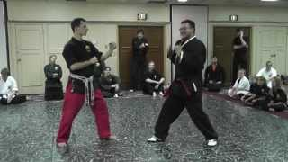 Shaolin American Kempo Karate Kung-Fu Jiu-Jitsu In Home Training-Jim Brassard