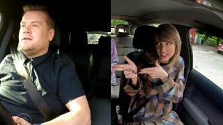Carpool Karaoke Taylor Swift James Corden