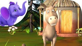 Donkey, Donkey - Nursery Rhyme with Karaoke