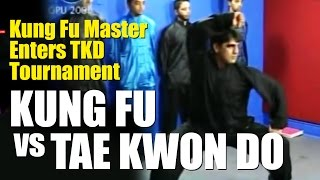 Kung Fu Master Enters Taekwondo Tournament